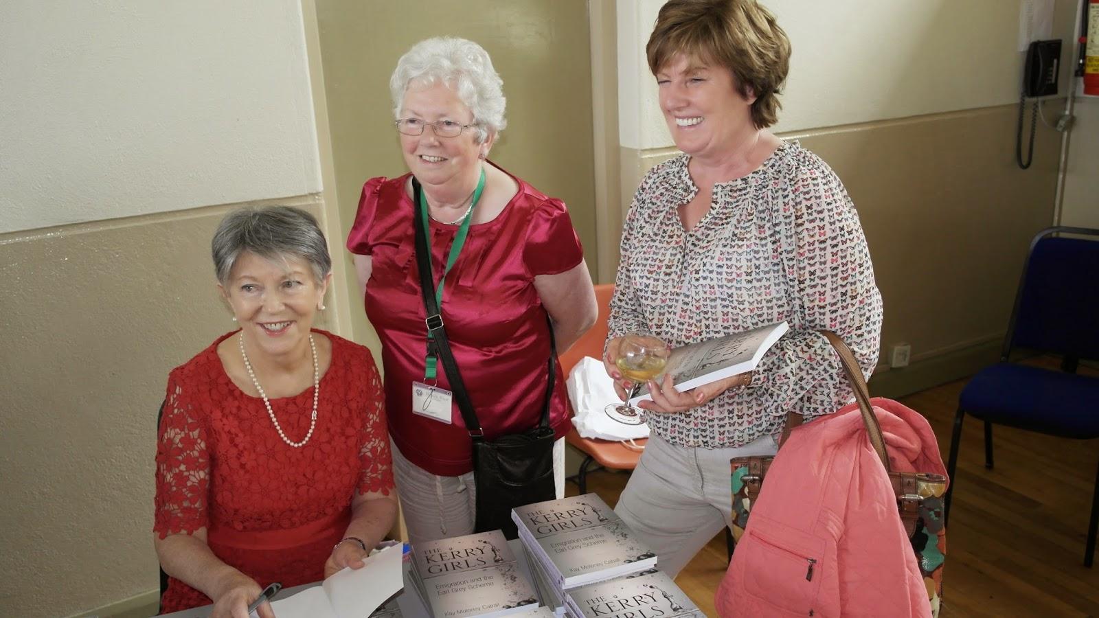 Book Laumch Kay, Mary Cogan, Aine Guerin
