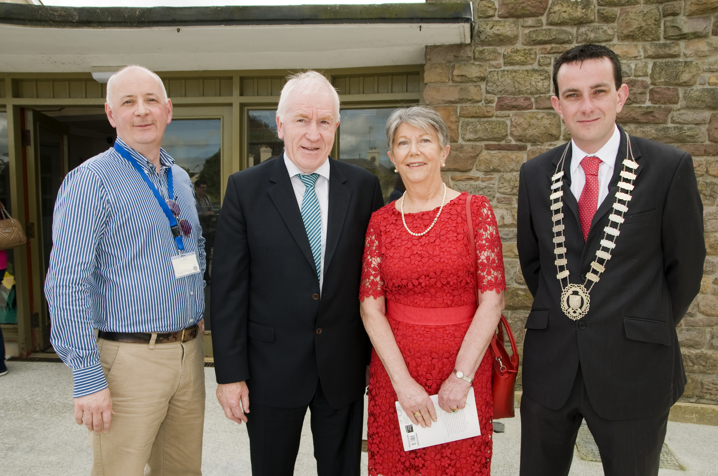 Book launch Ml Lynch, Kerry County Archivist,, Minister, Kay, Jimmy Moloney, Mayor of Listowel