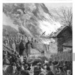 Evictions in Glenbeigh 1887