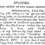 Ballybunion Eviction 1884