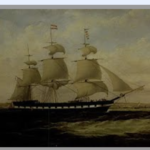 Emigrant Ship from Dingle 1847